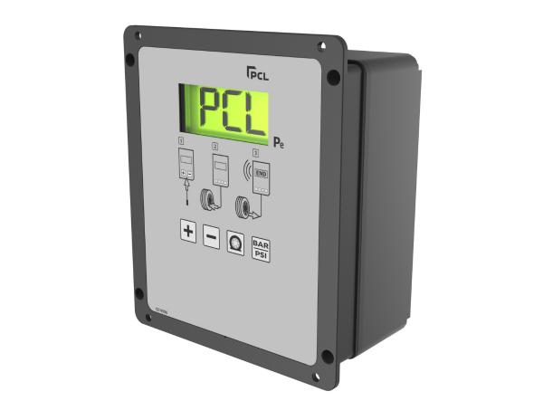 AutoEquip-Online - ACCURA Forecourt 220v Pre-set DIGITAL Wall Mount Inflator
